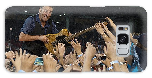 Bruce Springsteen Galaxy S8 Case - Frenzy At Fenway by Jeff Ross