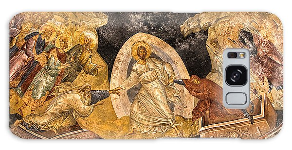 Fresco In Chora Church In Istanbul Galaxy Case