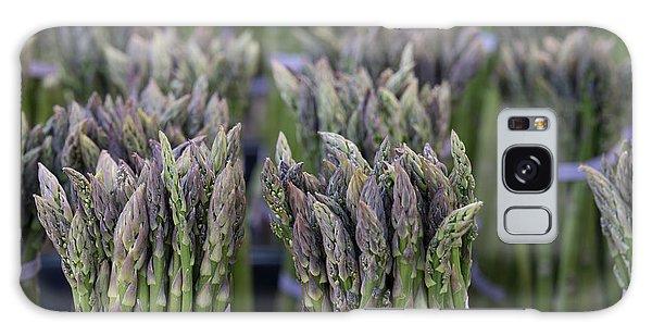 Asparagus Galaxy Case - Fresh Asparagus by Mike  Dawson