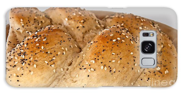 Fresh Challah Bread Art Prints Galaxy Case