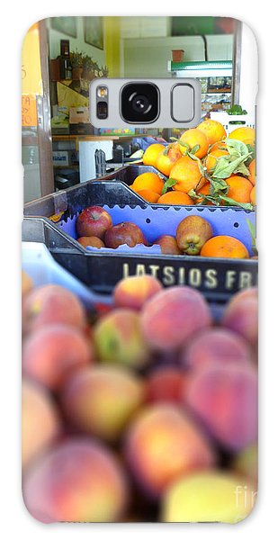 Fresh Fruit Galaxy Case by Vicki Spindler