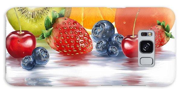 Fresh Fruits Galaxy Case