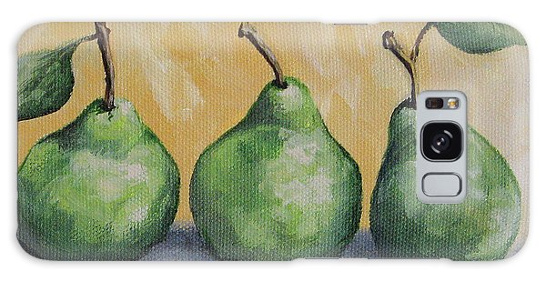 Fresh Green Pears Galaxy Case