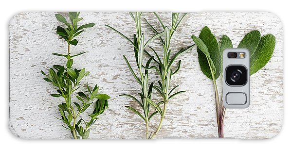Herbs Galaxy Case - Fresh Herbs by Nailia Schwarz