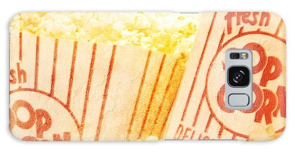 Fresh Hot Buttered Popcorn Galaxy Case