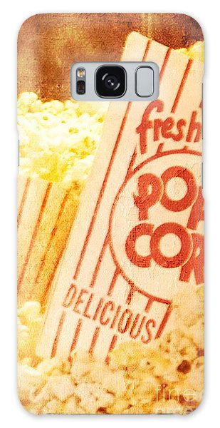Fresh Hot Buttered Popcorn Galaxy Case
