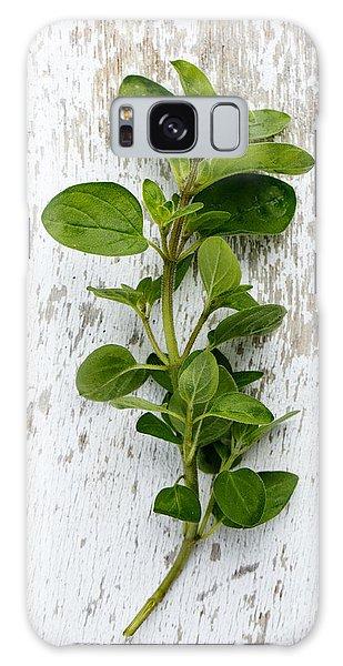 Herbs Galaxy Case - Fresh Oregano by Nailia Schwarz