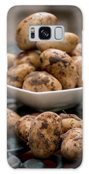 Fresh Potatoes Galaxy Case by Aberration Films Ltd