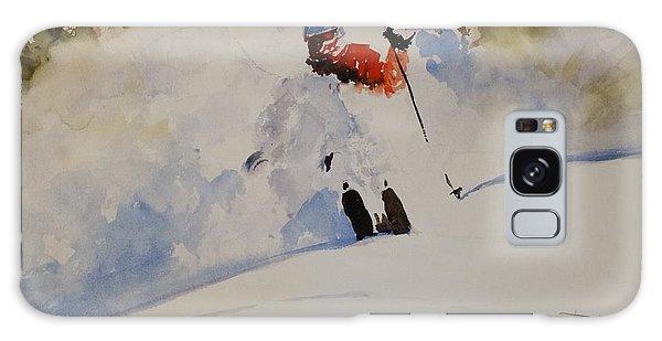 Fresh Powder Galaxy Case by Sandra Strohschein