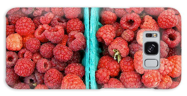 Fresh Raspberries Galaxy Case
