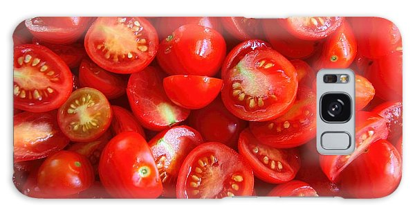 Fresh Red Tomatoes Galaxy Case