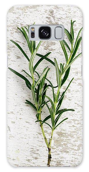 Herbs Galaxy Case - Fresh Rosemary by Nailia Schwarz