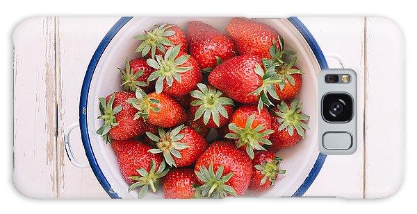 Fresh Strawberries  Galaxy Case by Viktor Pravdica