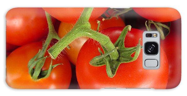 Fresh Whole Tomatos On Vine Galaxy Case by David Millenheft