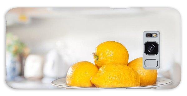 Freshly Picked Lemons Galaxy Case