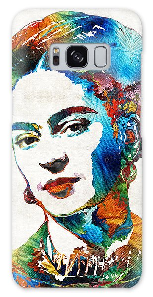 Frida Kahlo Art - Viva La Frida - By Sharon Cummings Galaxy Case