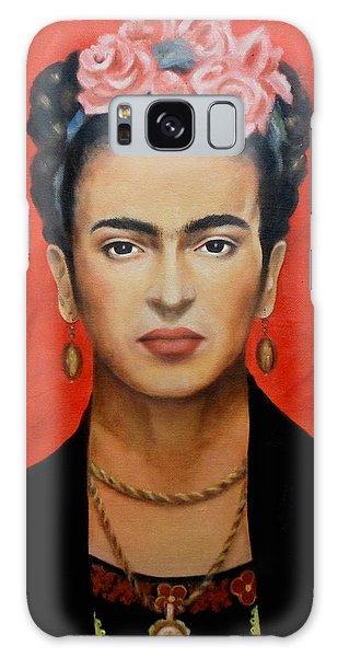 Mexico Galaxy Case - Frida Kahlo by Yelena Day