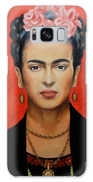 Mexican Galaxy S8 Case - Frida Kahlo by Yelena Day