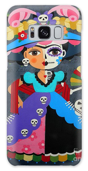 Frida Kahlo La Catrina Galaxy Case