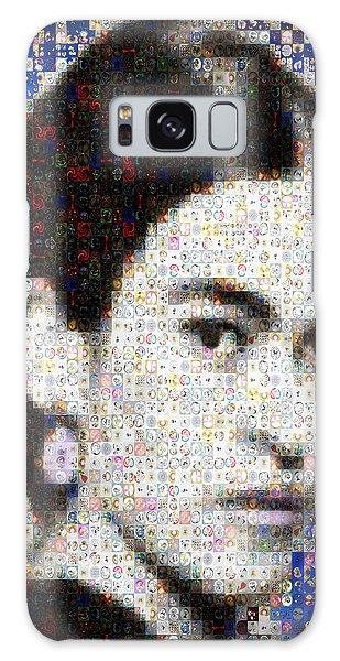Frida Kahlo Mosaic Galaxy Case