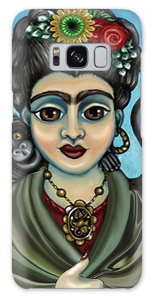 Frida's Monkey Galaxy Case