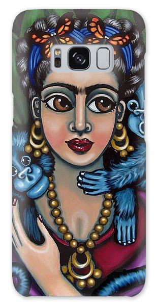 Frida's Monkeys Galaxy Case