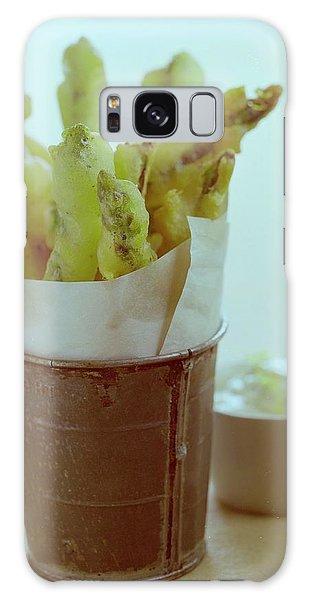 Fried Asparagus Galaxy Case