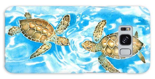 Friends Baby Sea Turtles Galaxy Case