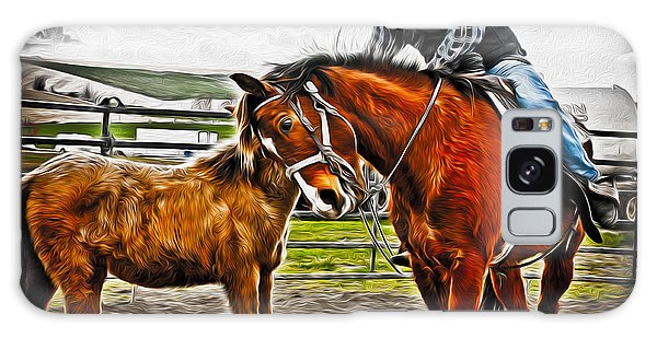Prca Galaxy Case - Friends by Denise Teague
