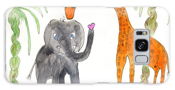 Friends - Elephoot And Elliot Galaxy Case