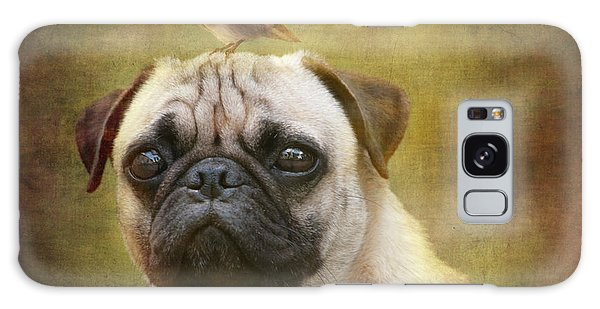 Friends Like Pug And Bird Galaxy Case by Barbara Orenya