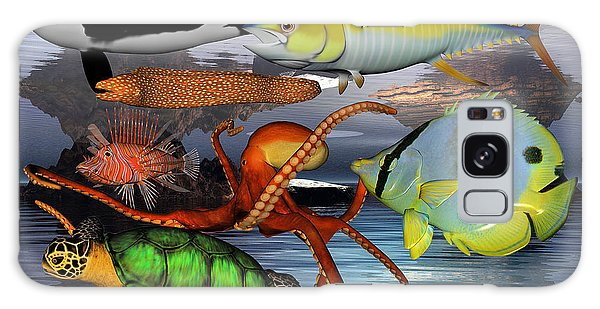 Turtle Galaxy Case - Friends Of The Sea by Betsy Knapp