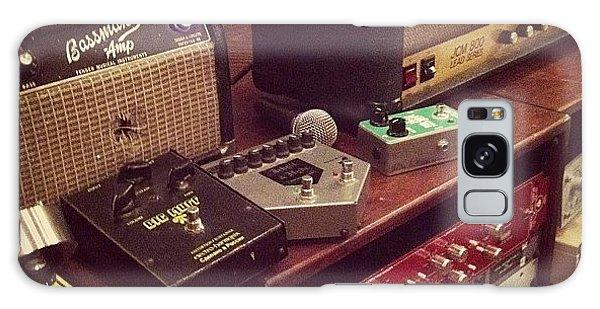 Guitar Sounds Galaxy Case by John Michael McCasland