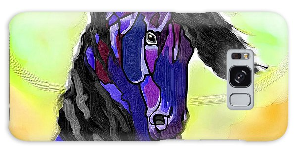 Friesian Stallion Galaxy Case