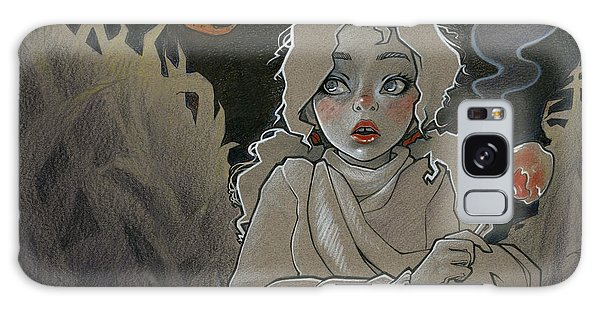 Scarf Galaxy Case - Did You Hear That? by Shauna Kappers