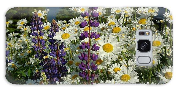 Frisco Flowers Galaxy Case by Lynn Bauer