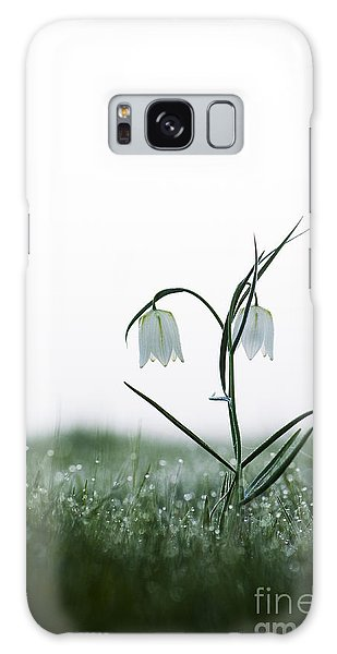 Grass Snake Galaxy Case - Fritillary In The Mist by Tim Gainey