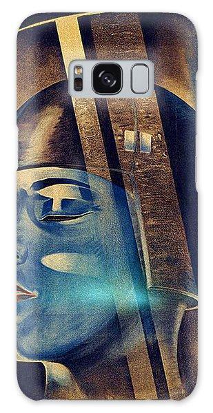 Galaxy Case featuring the digital art Fritz Lang's Metropolis Poster by Joy McKenzie
