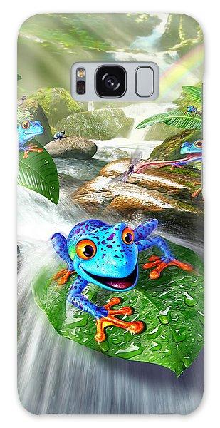 Fun Galaxy Case - Frog Capades by Jerry LoFaro