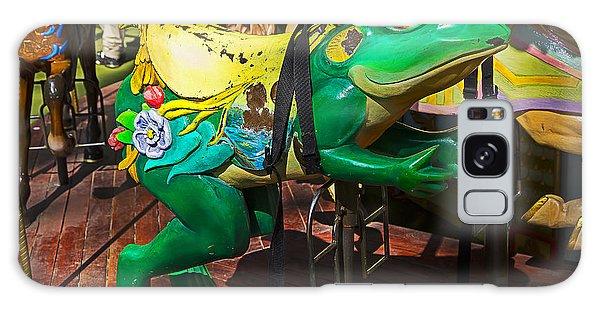 County Fair Galaxy Case - Frog Carrousel Ride by Garry Gay
