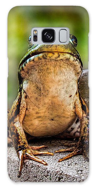 Frog Prince Or So He Thinks Galaxy Case by Bob Orsillo