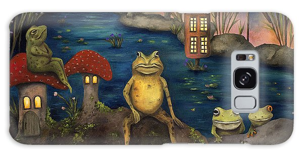 Frogland Galaxy Case by Leah Saulnier The Painting Maniac