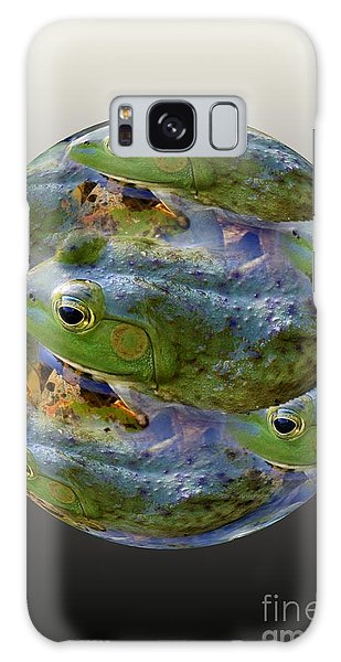 Frogs Eye View 3 Galaxy Case