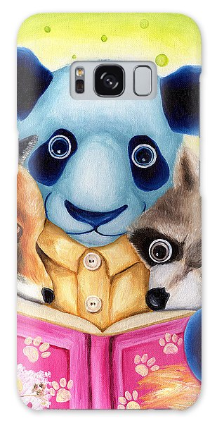 From Okin The Panda Illustration 10 Galaxy Case