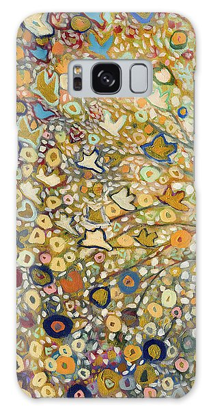 Gold Galaxy Case - From Out Of The Rubble Part A by Jennifer Lommers