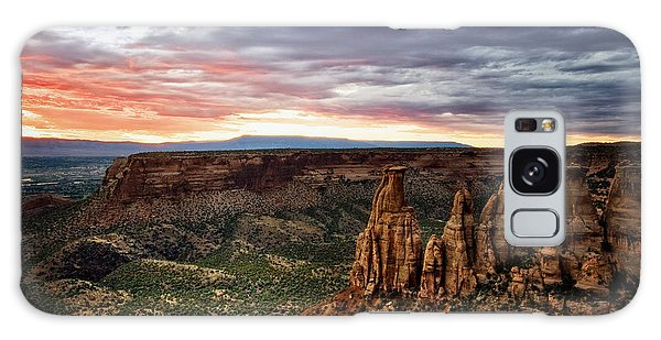 From The Overlook - Colorado National Monument Galaxy Case