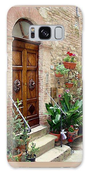 Door Galaxy Case - Front Door by Ellen Henneke