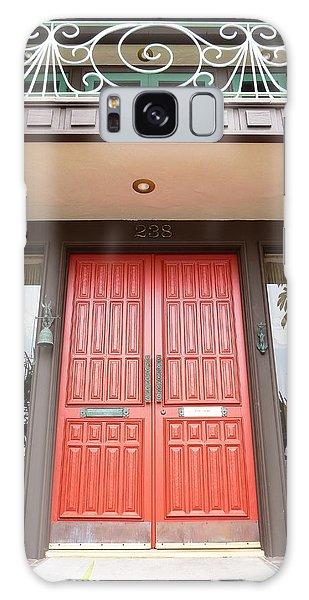 Front Door Galaxy Case by Julia Ivanovna Willhite