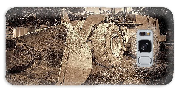 Excavator Galaxy Case - Front Loader-1 by Rudy Umans