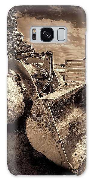 Excavator Galaxy Case - Front Loader-3 by Rudy Umans